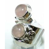 Nathalie Sterling Silver Quartz  Ring