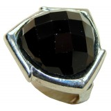 Julia Sterling Silver Onyx  Ring