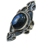 Sylvia Sterling Silver Labradorite  Ring