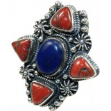 Virginia Sterling Silver Lapis  Ring
