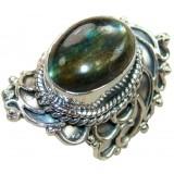 Yareli Sterling Silver Labradorite  Ring