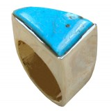 Elliana Sterling Silver Turquoise  Ring