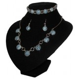 Reina Deep Blue Jade Set