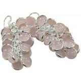 Janessa Sterling Silver Quartz  Earrings