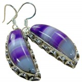 Kensley Sterling Silver Onyx  Earrings