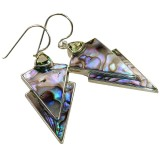Kiana Sterling Silver Amethyst  Earrings