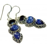 Avianna Sterling Silver Lapis  Earrings
