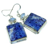 Judith Sterling Silver Gemstone  Earrings