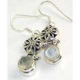 Abril Sterling Silver Moonstone  Earrings