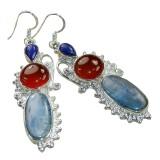 Jemma Sterling Silver Lapis  Earrings